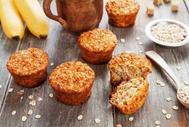 Orange & Oat Muffins